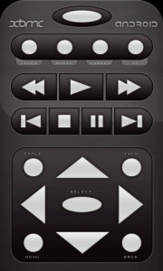 The XBMC Remote Control App for Android
